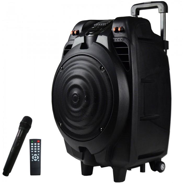 Boxa Bluetooth Activa 200W, Karaoke, Radio, Card, USB, MP3 Microfon