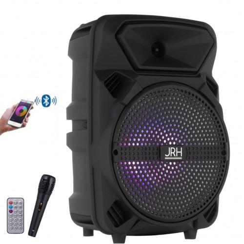 Boxa Portabila G8 Difuzor 20 CM Bluetooth FM SD USB MP3 Microfon Telecomanda