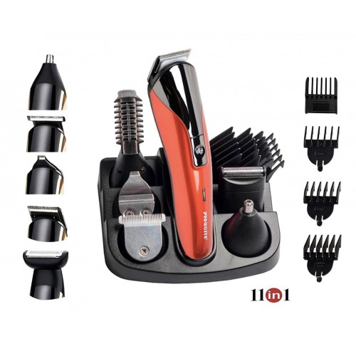 Aparat barbierit Promozer 11 in 1 Mz-18™ Profesional , Tuns si Trimmer
