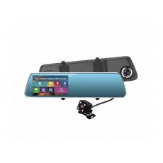 Camera Auto Dubla Oglinda, Touch Screen, 4.3 Inch, Full-HD, G-Senzor, Mod Parcare
