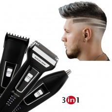 Set Aparat Barbierit Profesional Ingrijire Personala  3 in 1