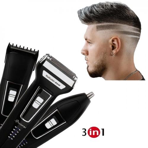 Set Barbierit Profesional Ingrijire Personala  3 in 1