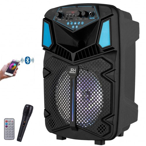 Boxa Activa Bluetooth H8, Karaoke, Radio, Card, USB, MP3 Microfon Telecomanda