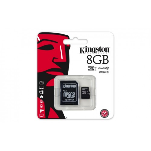 Card Kingston 8GB Clasa 10