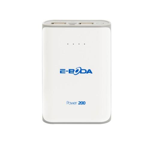 Baterie externa Power200 E-Boda dualpower 6000 mAh alba