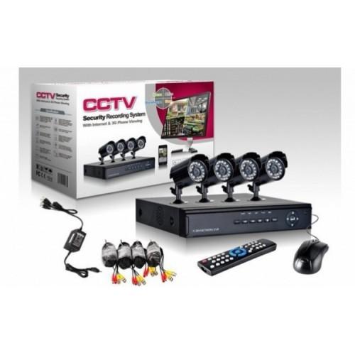 CCTV 4 Camere Supraveghere