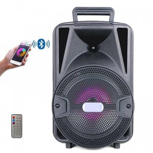 Boxa Activa Portabila Tip Troller , Karaoke , Radio, Card, USB