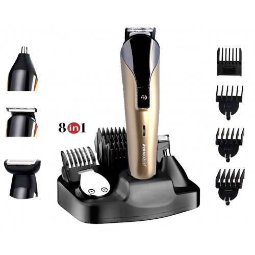 Aparat barbierit Promozer 8 in 1 Mz-17™ Profesional , Tuns si Trimmer