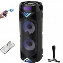 Boxa Portabila Tub , Bluetooth , Usb , Aux , Card sd , Radio + Microfon